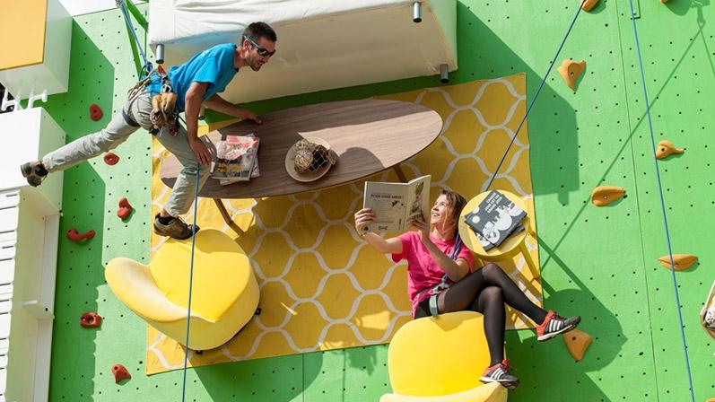 Скалолазание от Ikea