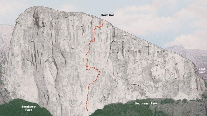 маршрут-dawn-wall